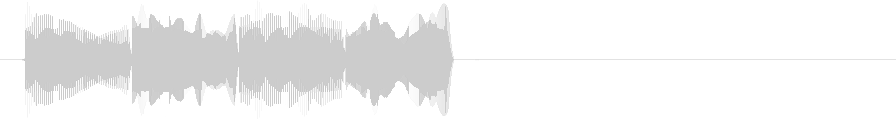 ピコピコ(エラー・アラート音)の未再生の波形