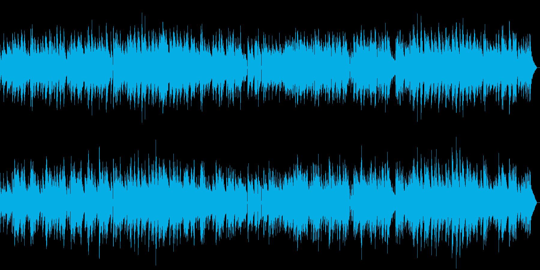 穏やかなピアノのバラードジャズの再生済みの波形
