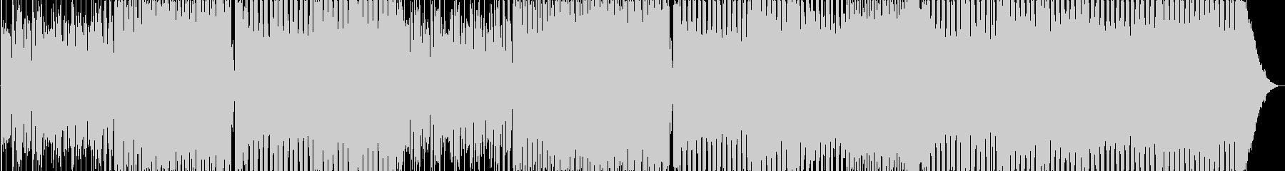 ダークなTRAPビートと軽快なROCKの未再生の波形