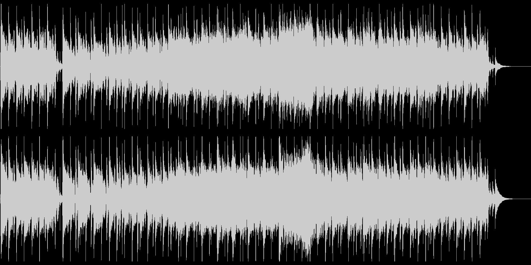 かわいい雰囲気の3拍子ポップスの未再生の波形