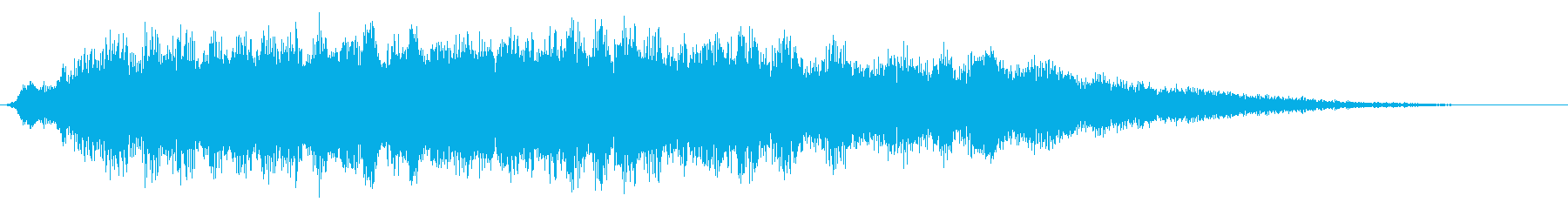 大きな光るシマー4の再生済みの波形