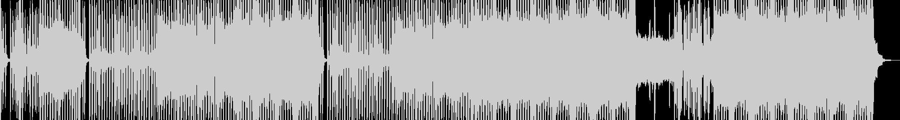 民族楽器・怪しげで恍惚なテクノ ボイス無の未再生の波形