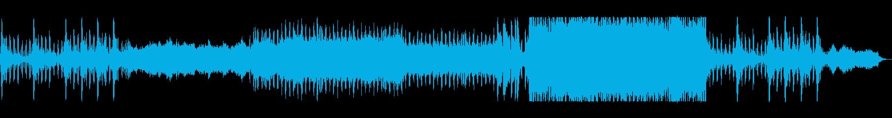 ポジティブポップなテクノ応援サウンドの再生済みの波形