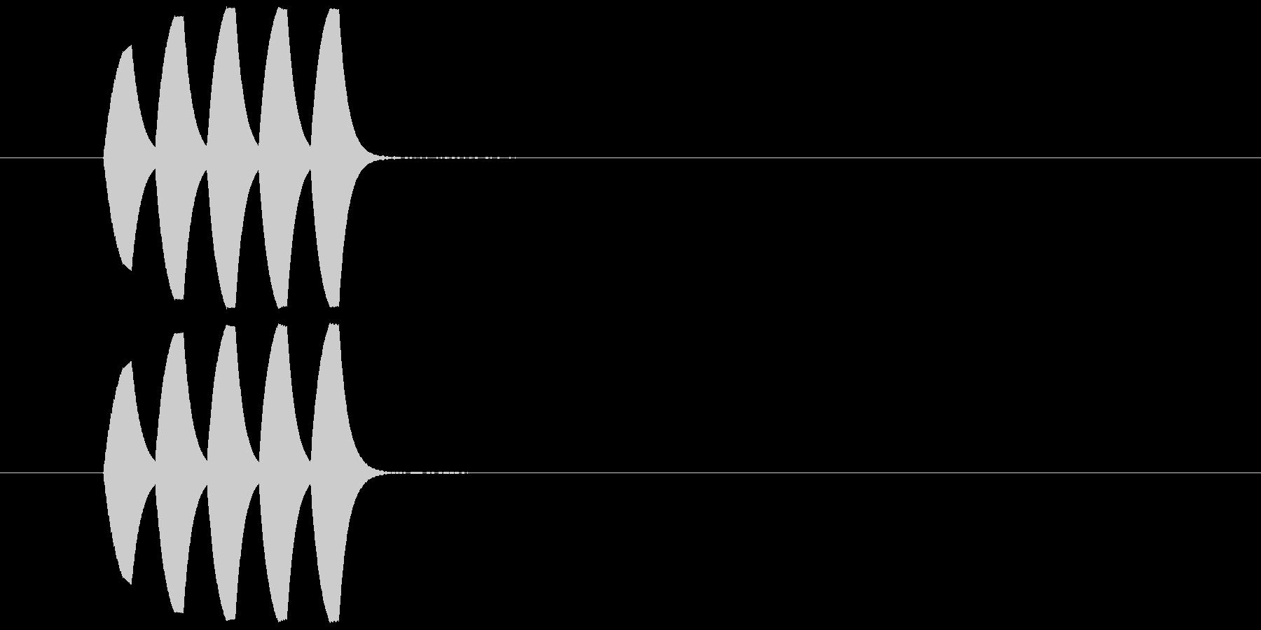 ピロリ②(クリア・お知らせ・場面転換)の未再生の波形