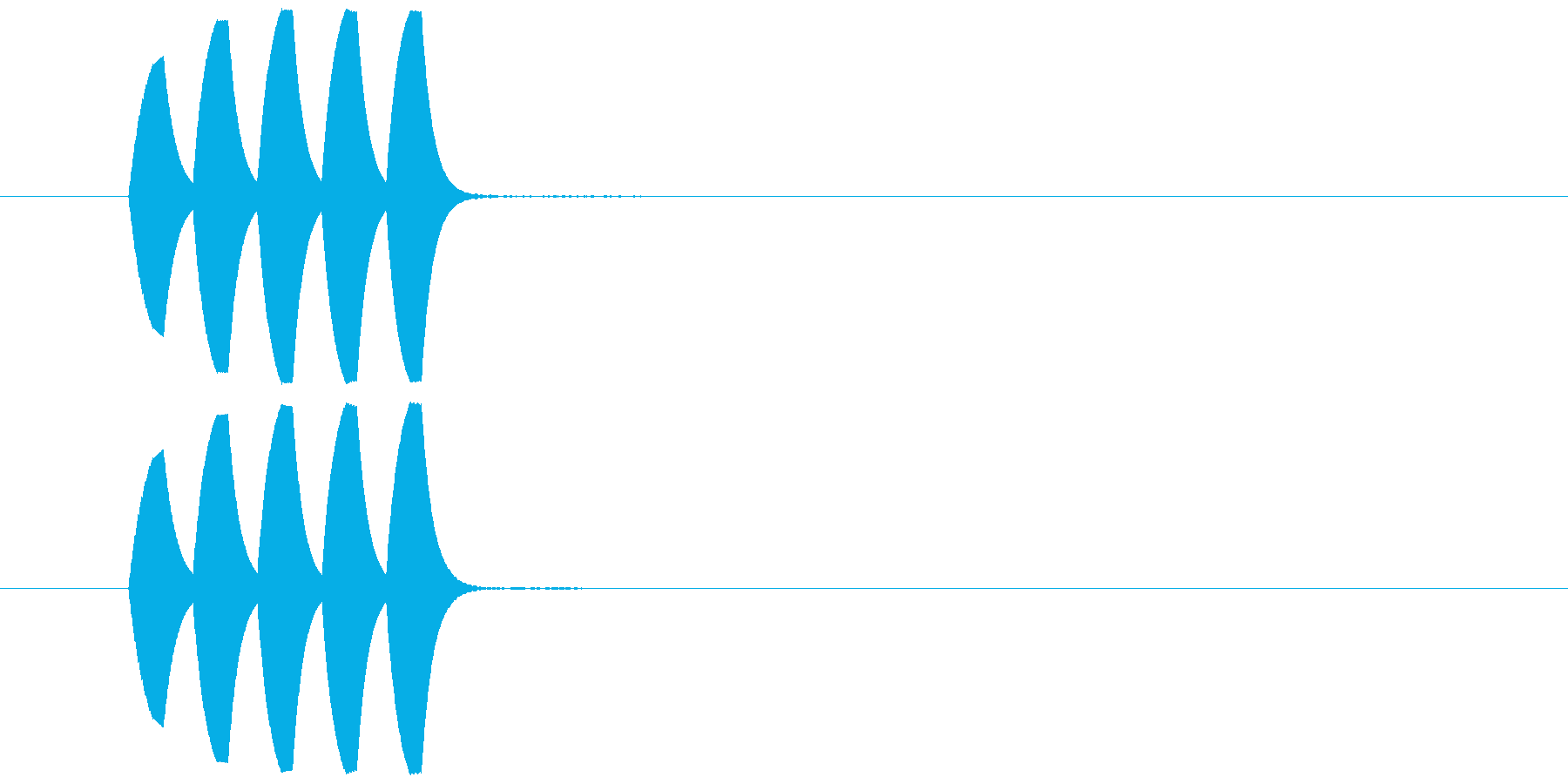 ピロリ②(クリア・お知らせ・場面転換)の再生済みの波形
