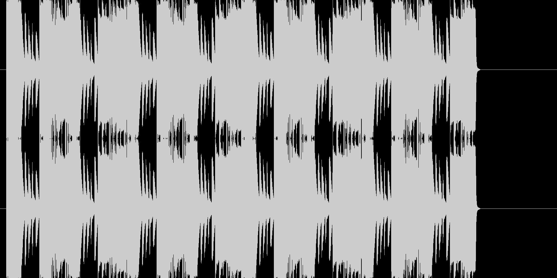フリーゲームのイントロっぽい曲の未再生の波形