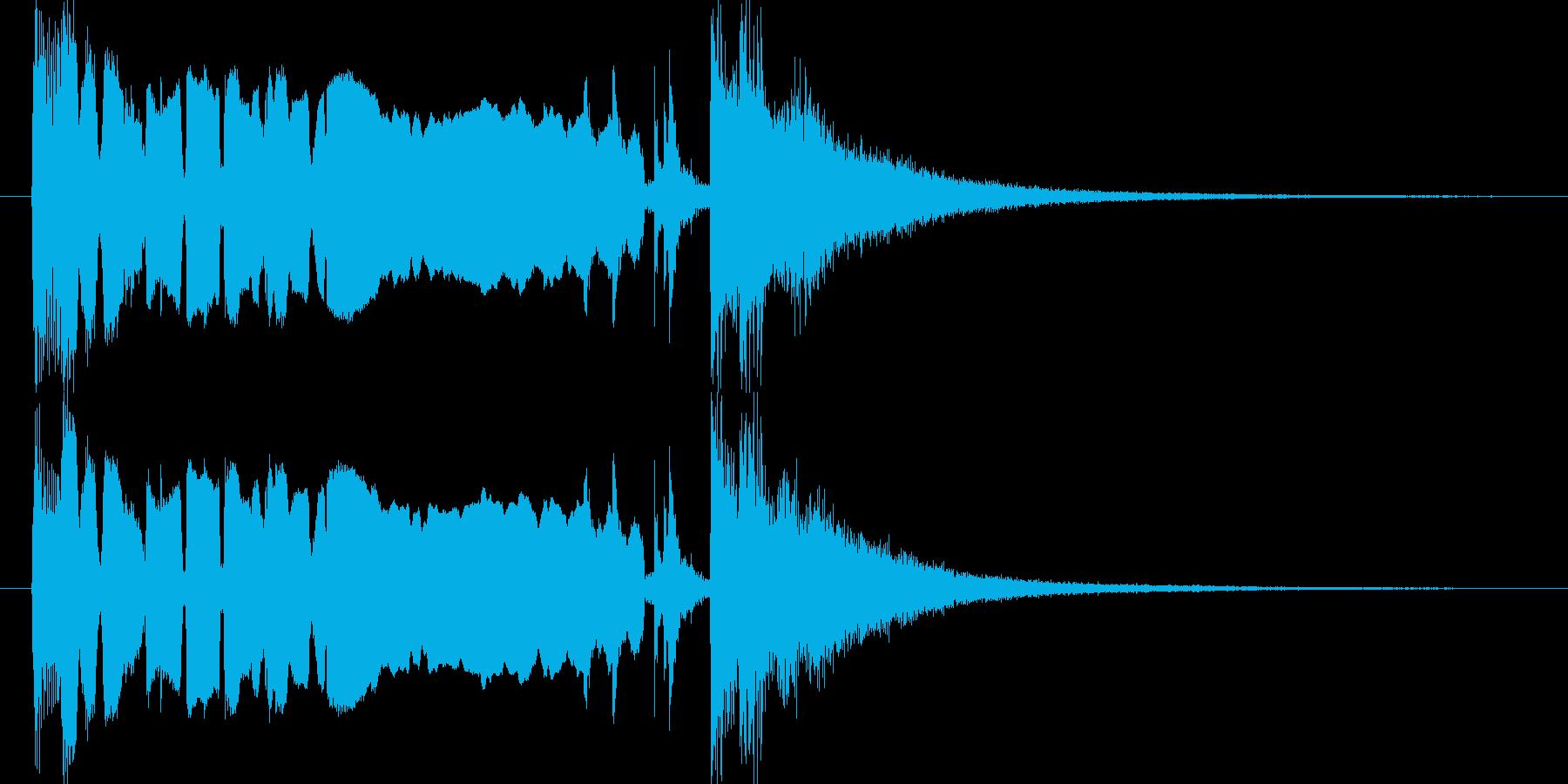 情熱 ジャズ サックス ジングルの再生済みの波形
