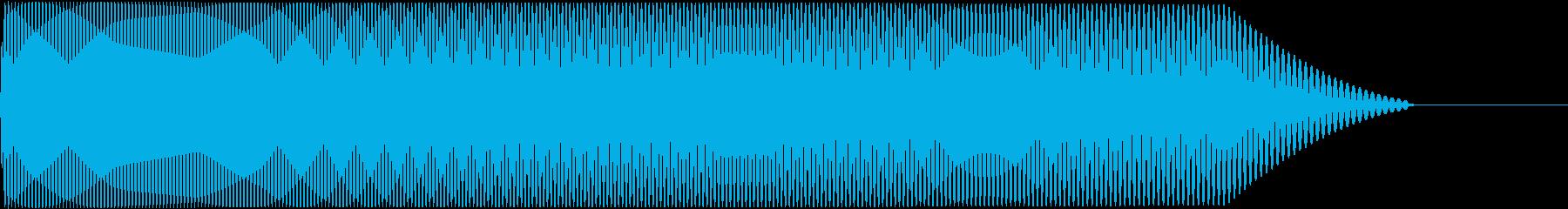 メタルコアベースドロップ F♯1→F♯0の再生済みの波形