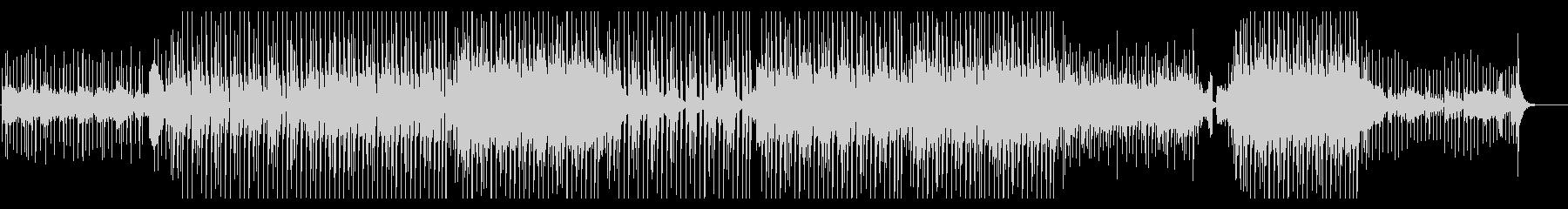 切ない雰囲気のビート/トロピカルハウスの未再生の波形