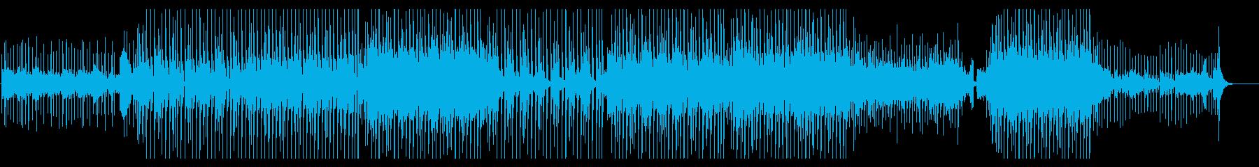 切ない雰囲気のビート/トロピカルハウスの再生済みの波形