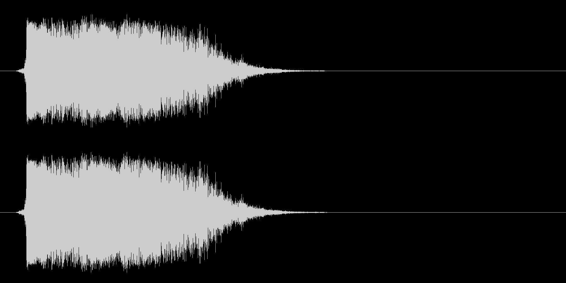 ハードメタルクラッシュメタルインパクトの未再生の波形
