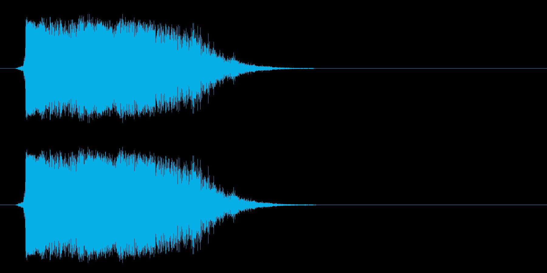 ハードメタルクラッシュメタルインパクトの再生済みの波形