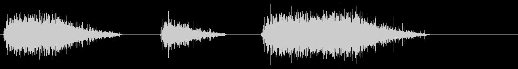電気のこぎり-ハンドヘルド-オン-...の未再生の波形