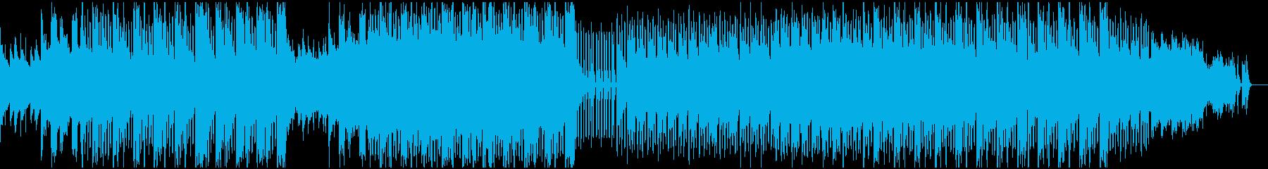 ベルの音が美しいアーシーなエレクトロの再生済みの波形
