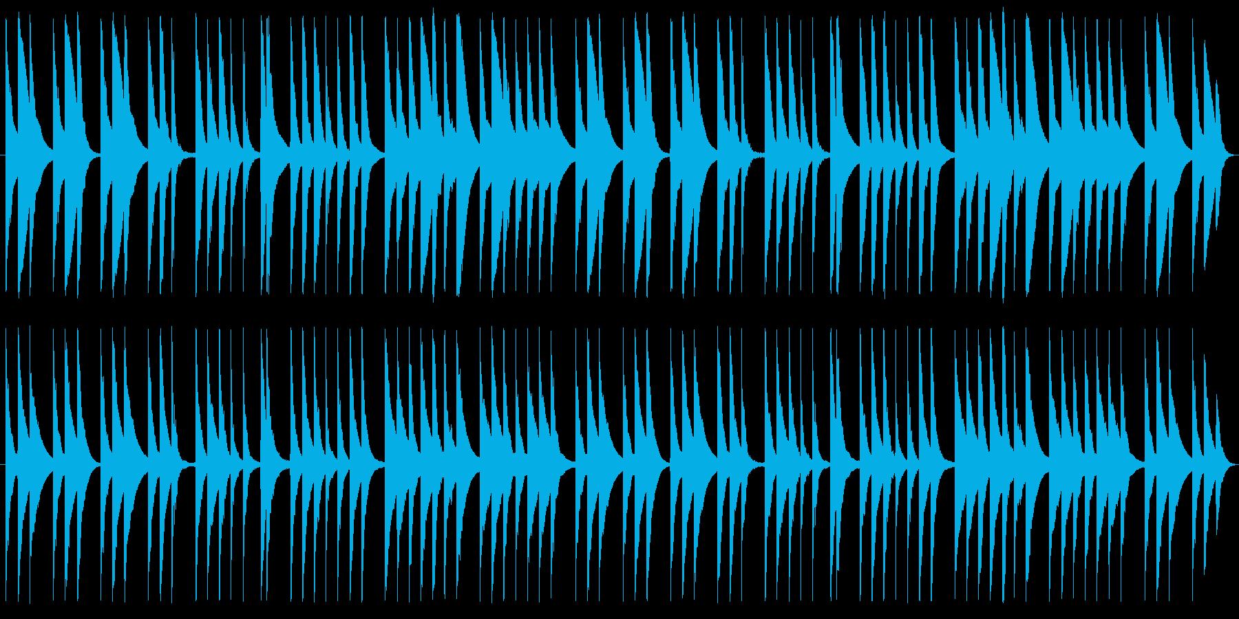 非常にシンプル、だからこそ目立たず使え…の再生済みの波形