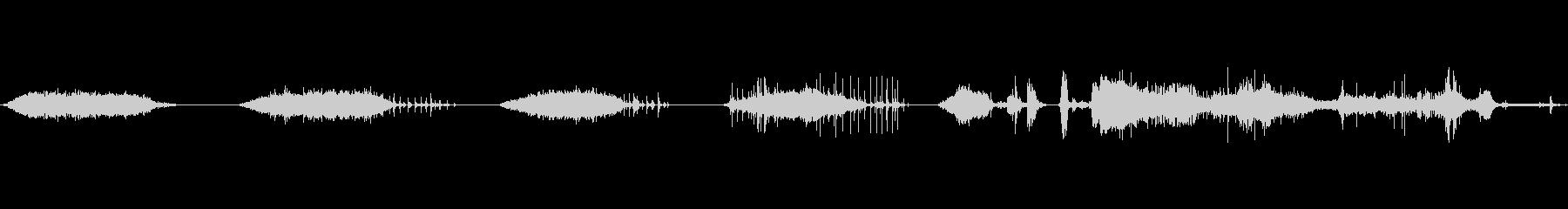 バルーンの膨張と収縮2の未再生の波形
