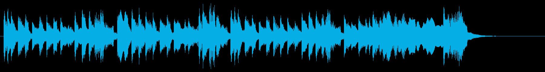 カエル/行進/かわいい/マリンバ/ペットの再生済みの波形