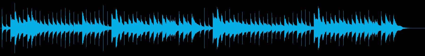 有名なラ・カンパネラをオルゴール風での再生済みの波形
