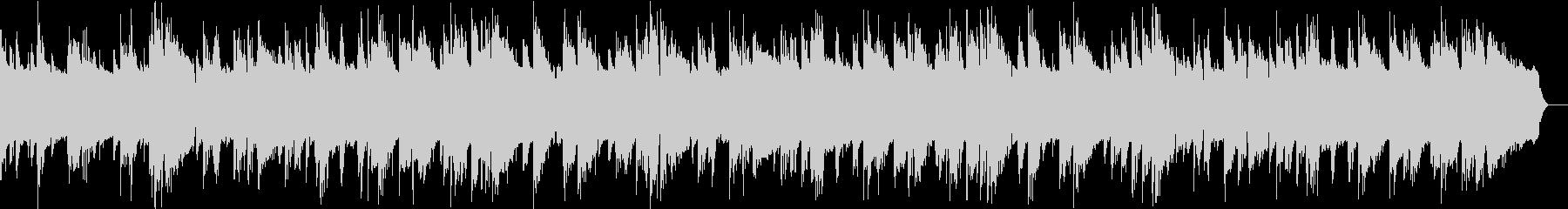 ジャズブルースのBGMの未再生の波形