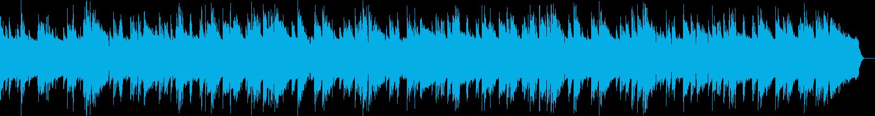 ジャズブルースのBGMの再生済みの波形