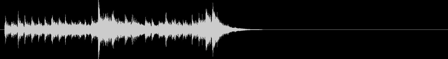 ジングル(クイズ・タッチ)の未再生の波形