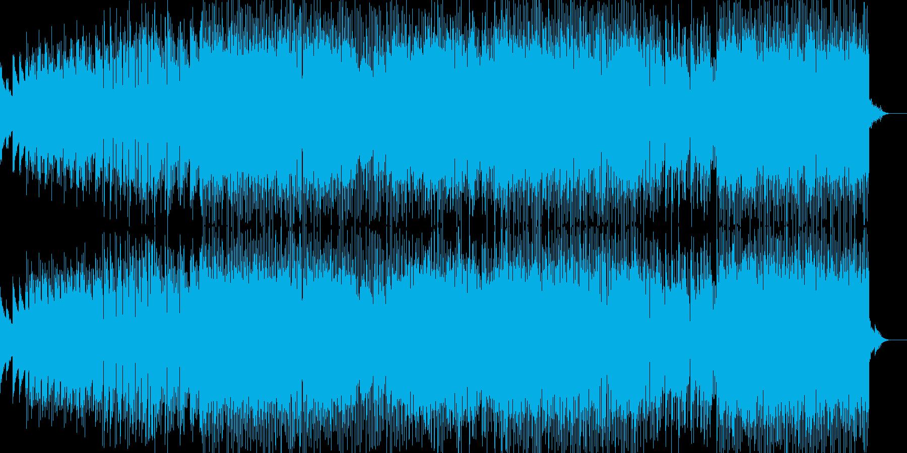 星空を連想させるキラキラしたBGMの再生済みの波形