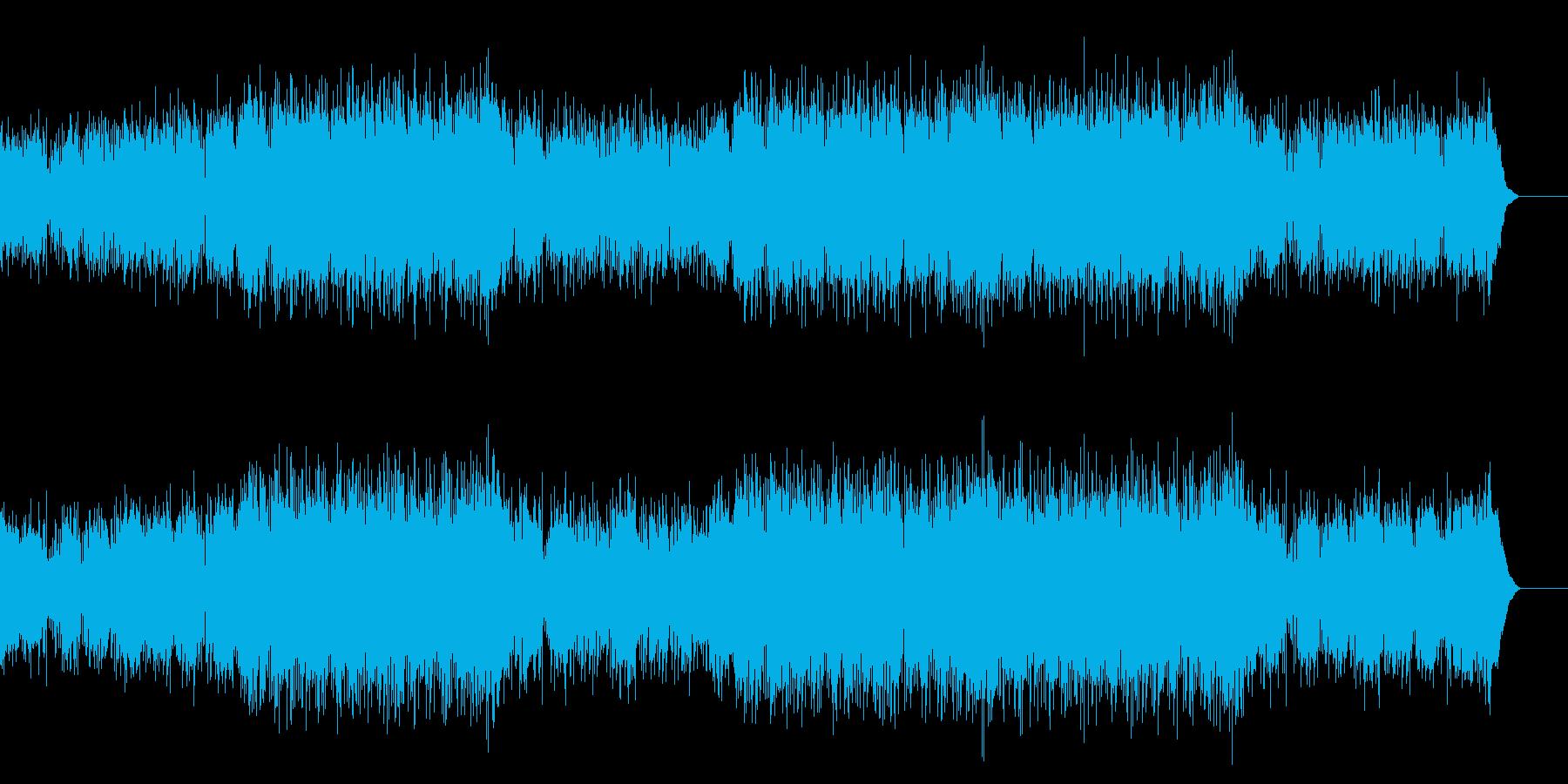 生演奏サックスのおしゃれな映像用ジャズの再生済みの波形