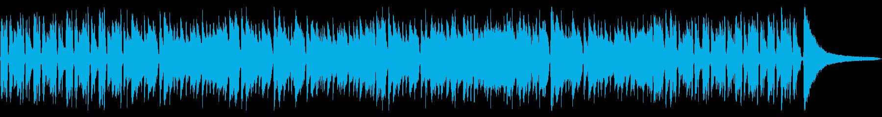クールでリズミカルなギタージャズの再生済みの波形