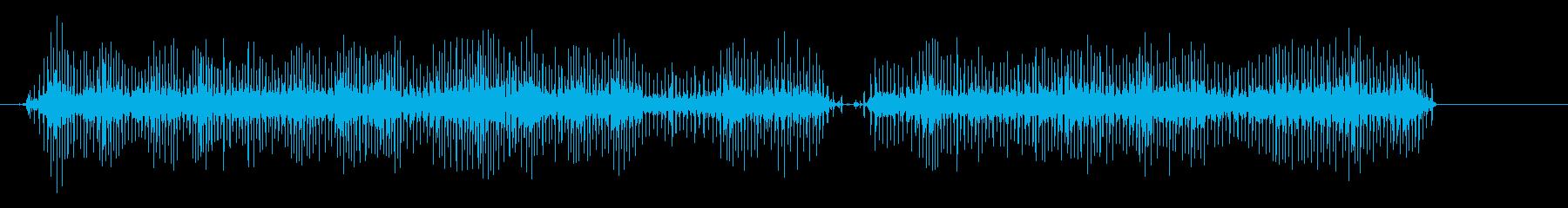 35mmシネマプロジェクターの再生済みの波形