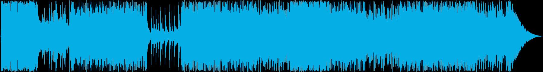 おしゃれPOPロックの再生済みの波形