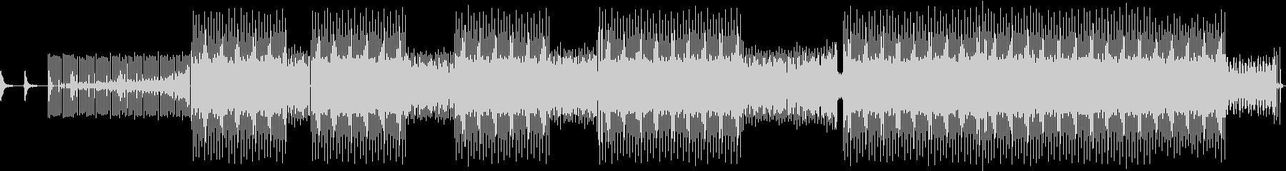 最小限の未再生の波形