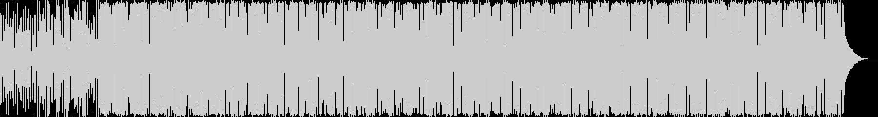 カントリー調のアコースティックギターの未再生の波形