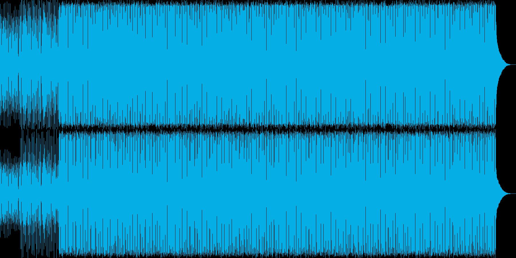 カントリー調のアコースティックギターの再生済みの波形
