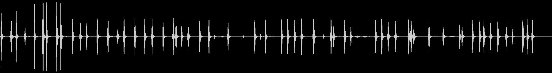 犬-内部の樹皮5の未再生の波形