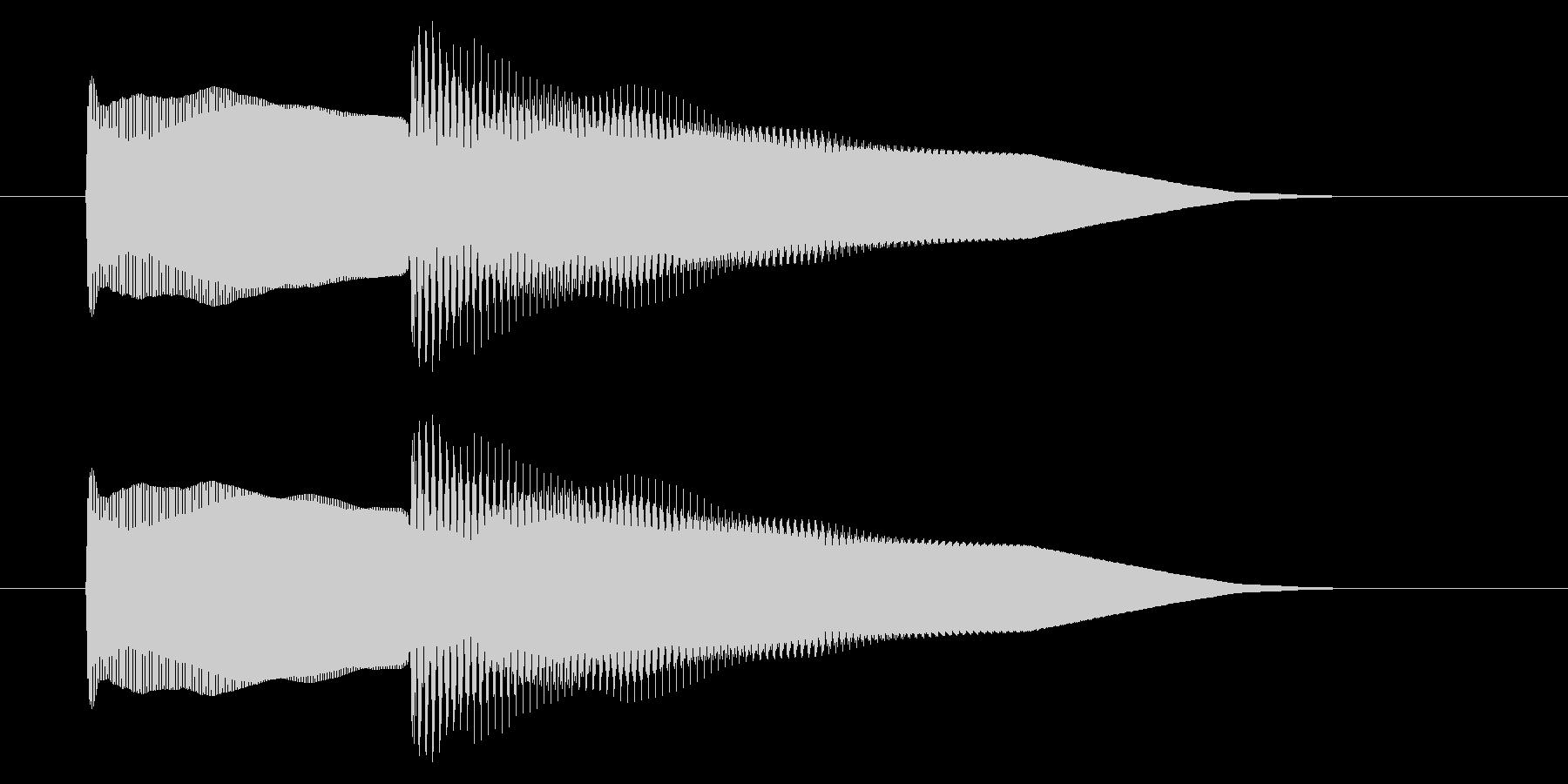 改札 アラーム01-5(音色1)の未再生の波形