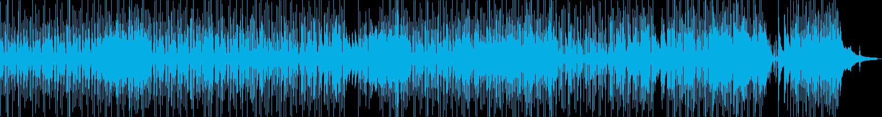 ほのぼの・日常的な映像や作品に ★の再生済みの波形