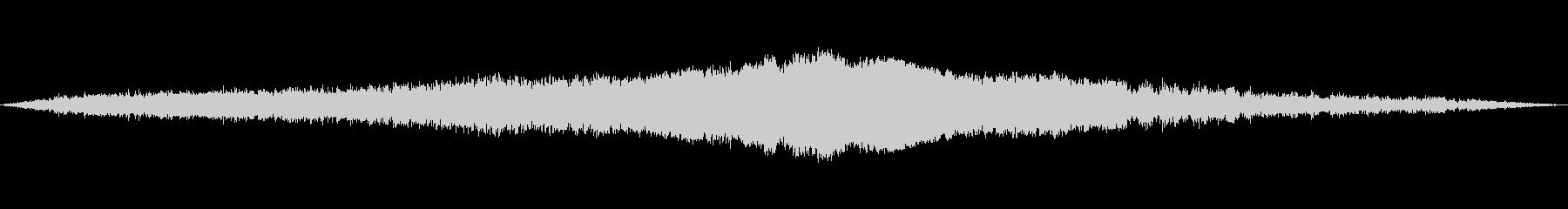 湖での通過、距離;ヴィンテージ録音...の未再生の波形