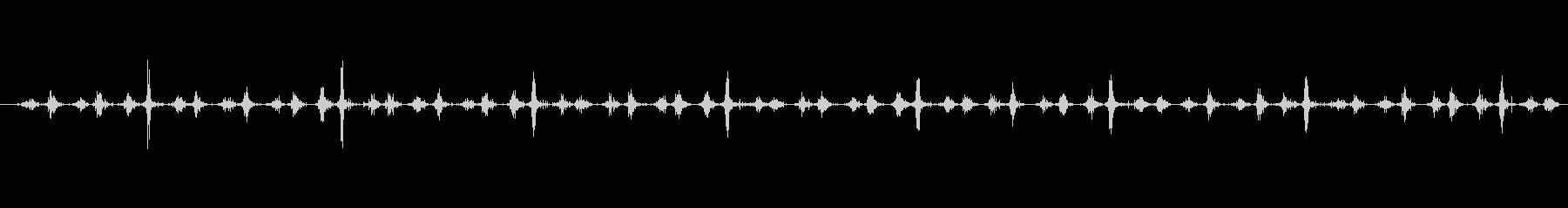 素材 シェーカー木製スローロング01の未再生の波形