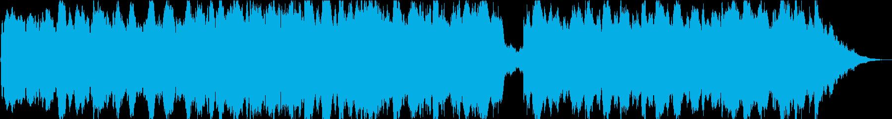 ドローン 不安定なホバーベース01の再生済みの波形