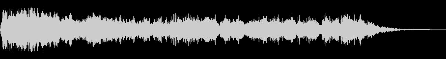 タララララーンラーン(オープニング音)の未再生の波形