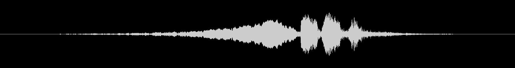 【ウグイス 合成01-4】の未再生の波形