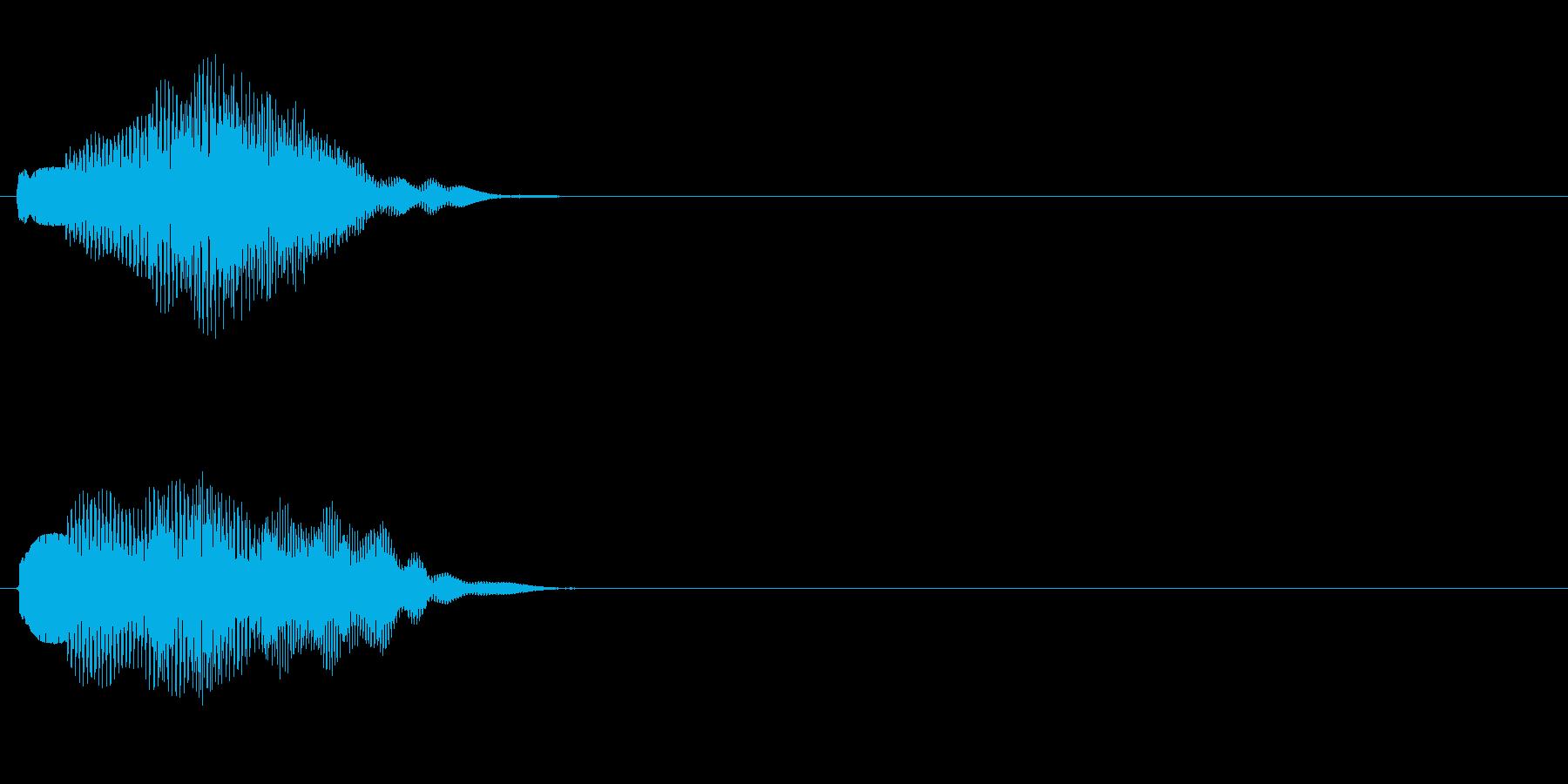 汎用 エレピ系07(大) 決定音の再生済みの波形