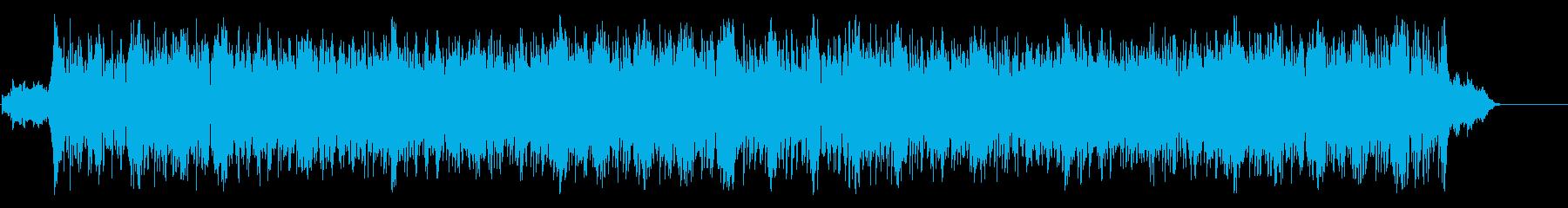 熱い鼓動が伝わるポップ/マイナーの再生済みの波形