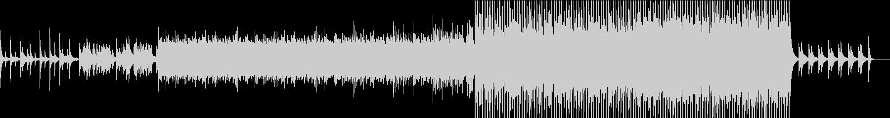 決意のピアノ曲の未再生の波形