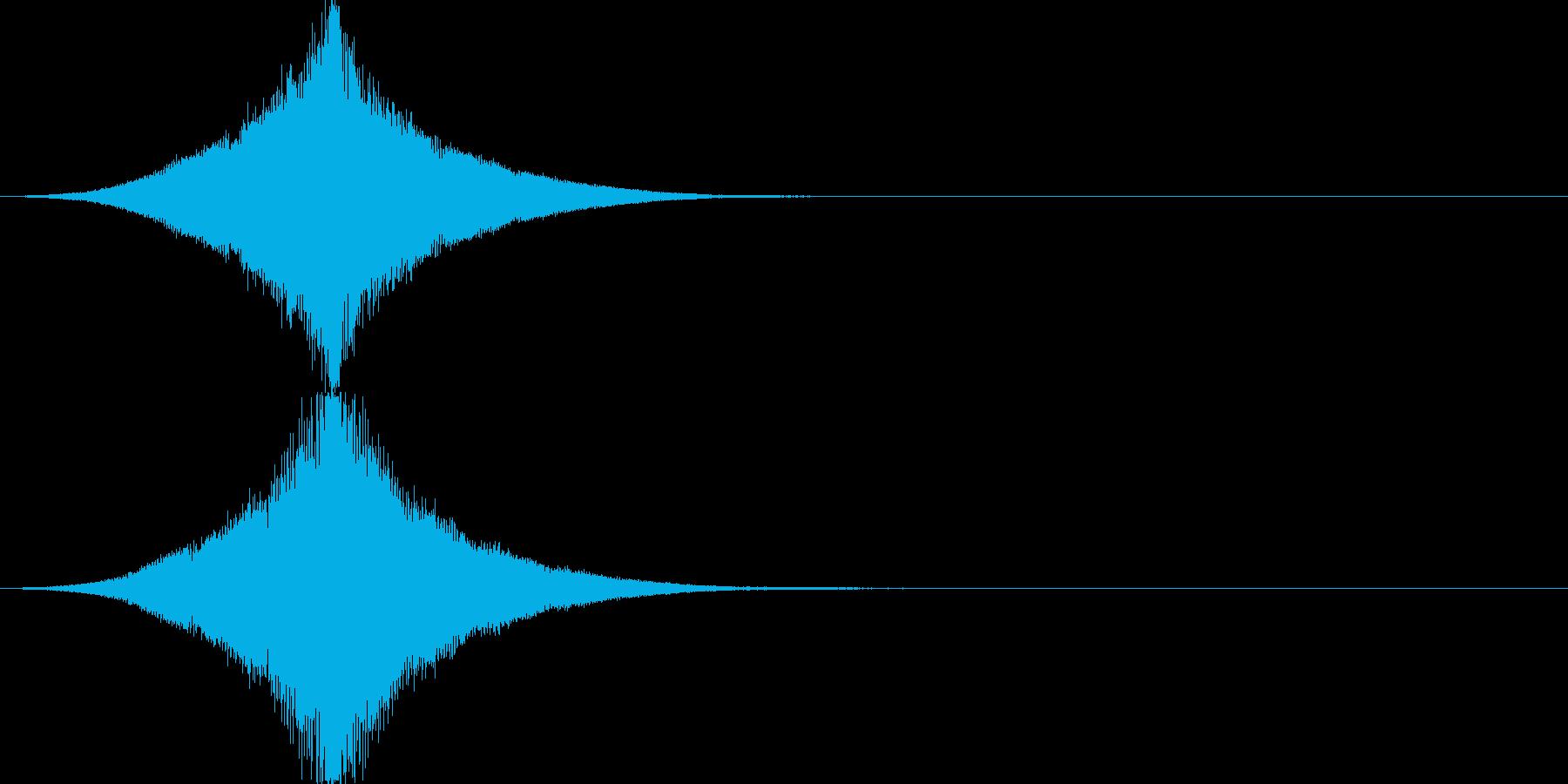インパクト/フェード/大きくなる/重厚1の再生済みの波形