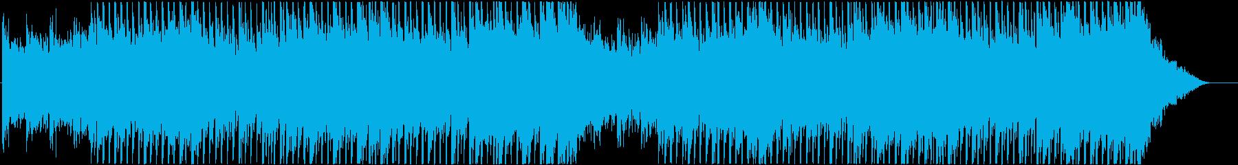 爽やかで前向きなイメージのEDM♪の再生済みの波形