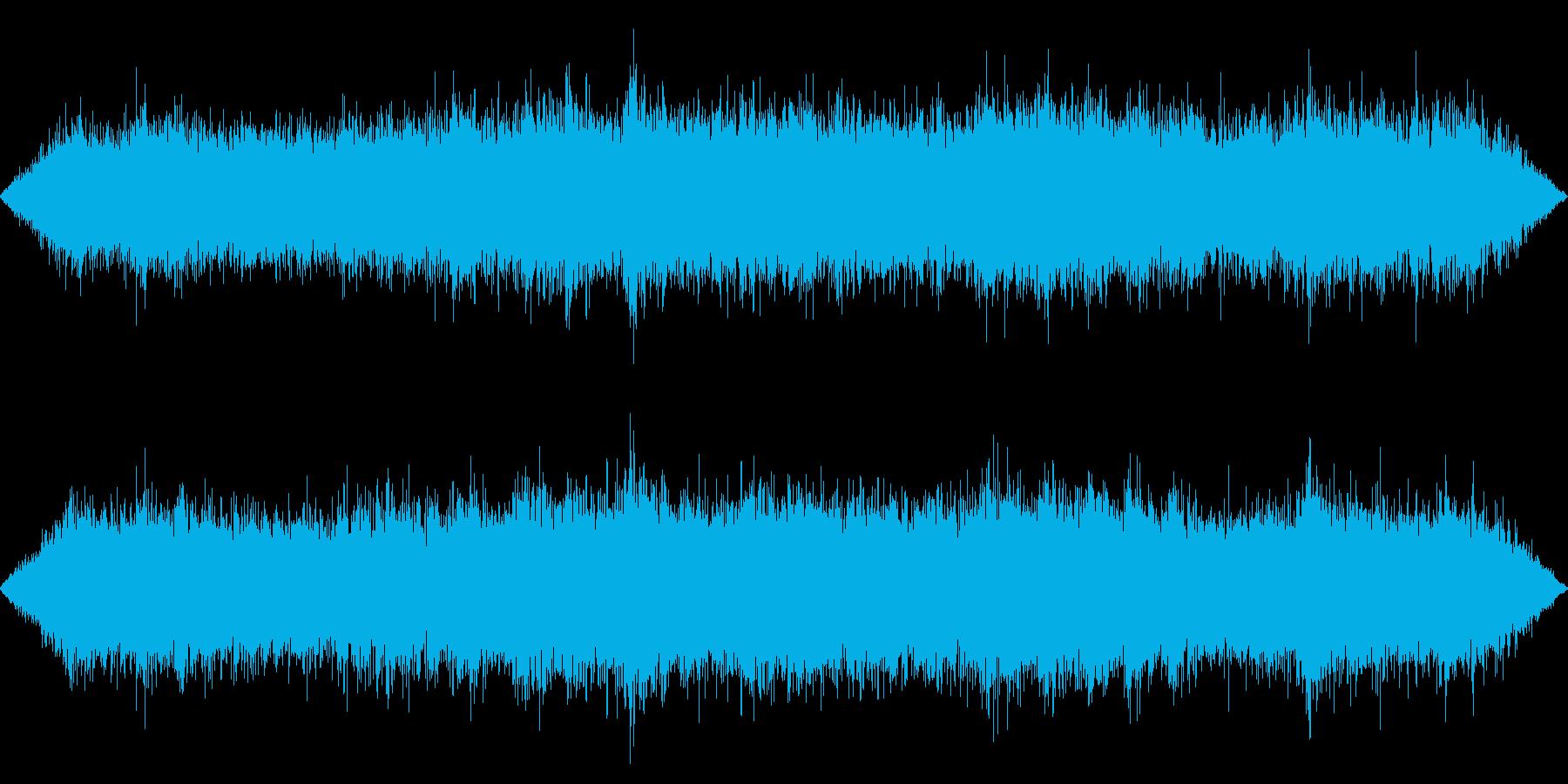 ざわざわざわ・・駅構内の雑踏の再生済みの波形