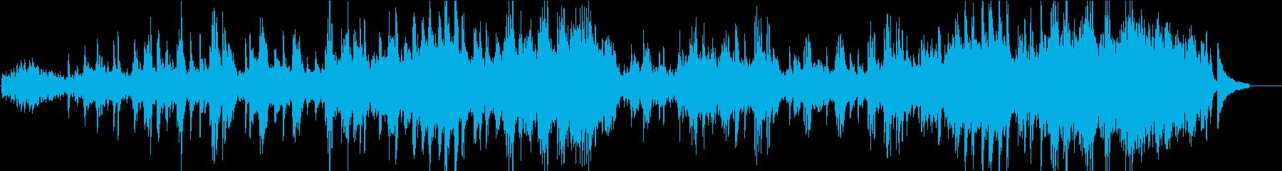 ピアニストが弾く人気曲「アヴェ・マリア」の再生済みの波形