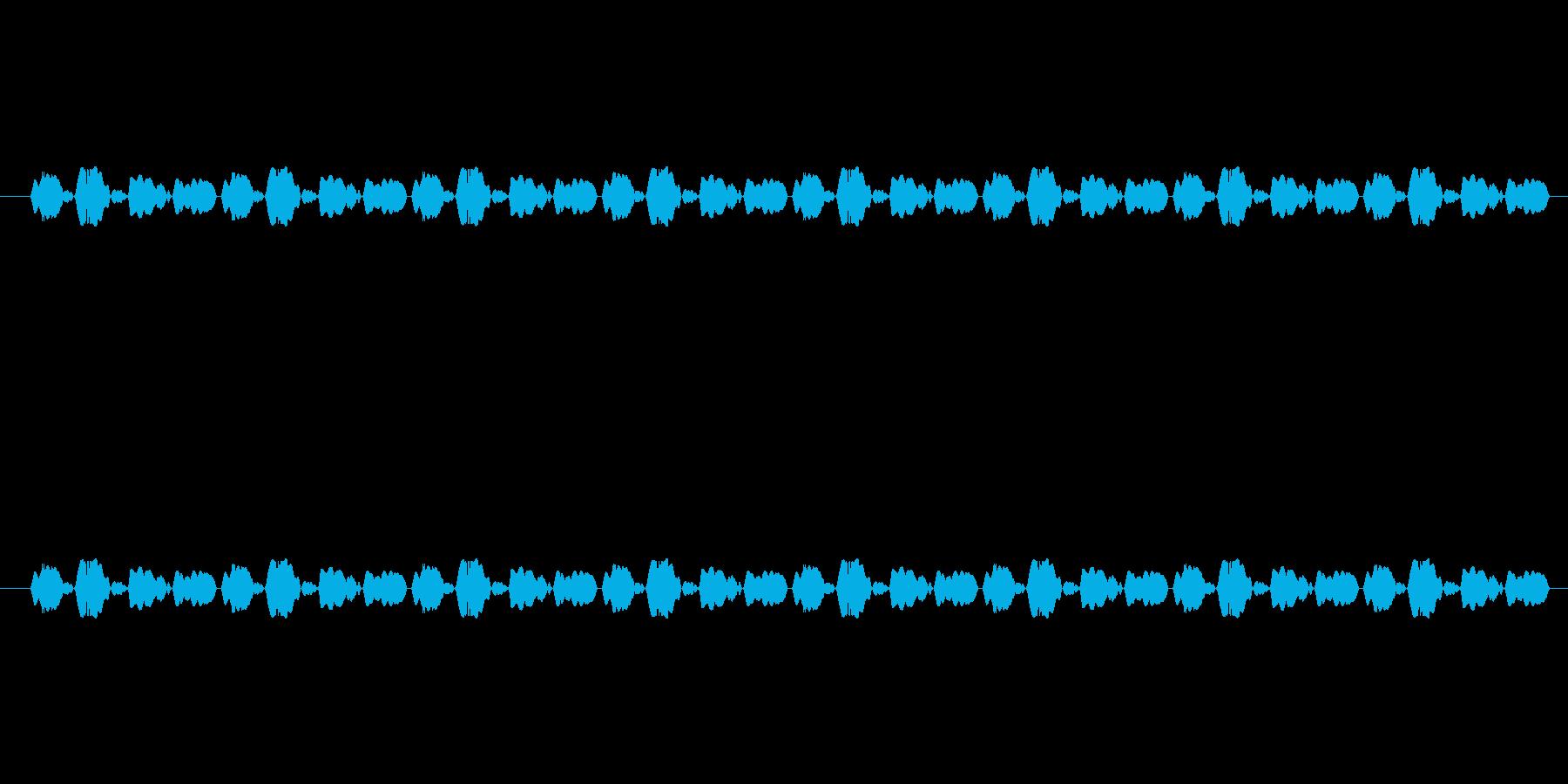 【慌てる05-1】の再生済みの波形