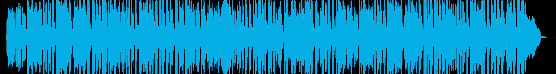 おやつの時間のような軽快で可愛いPOPSの再生済みの波形